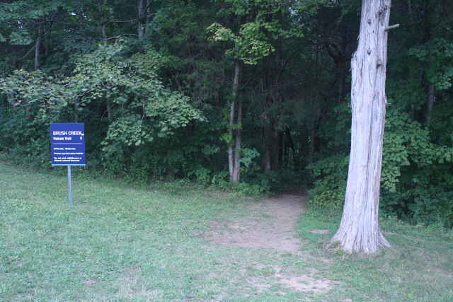 picture of Brush Creek nature trail