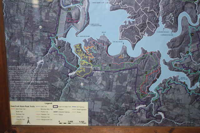 picture of trail map